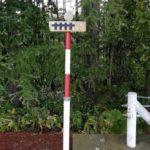 北海道で見つけた線路みたいな道路標識の正体は・・・あれだった